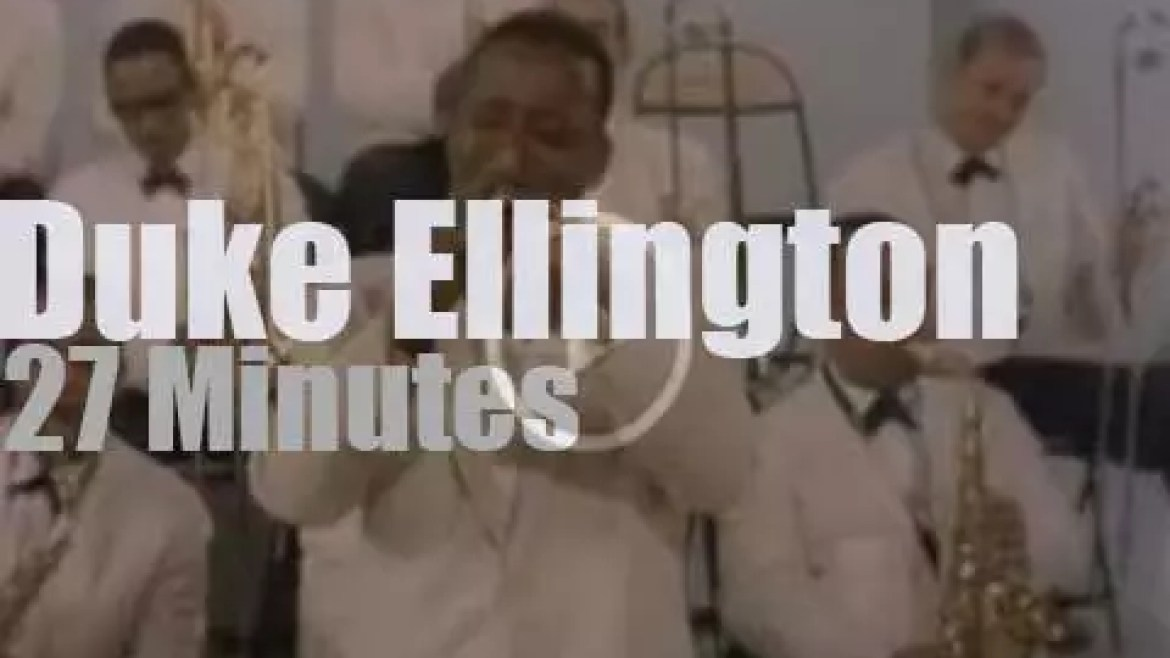 Duke Ellington & His Orchestra tape a film (1962)