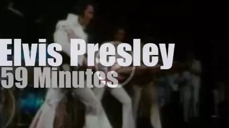 Elvis Presley rehearses 'Aloha From Hawaii' (1973)