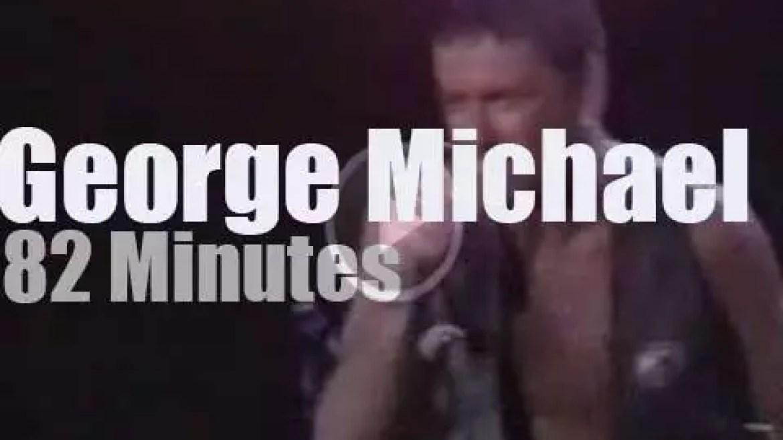 George Michael rock in Rio (1991)