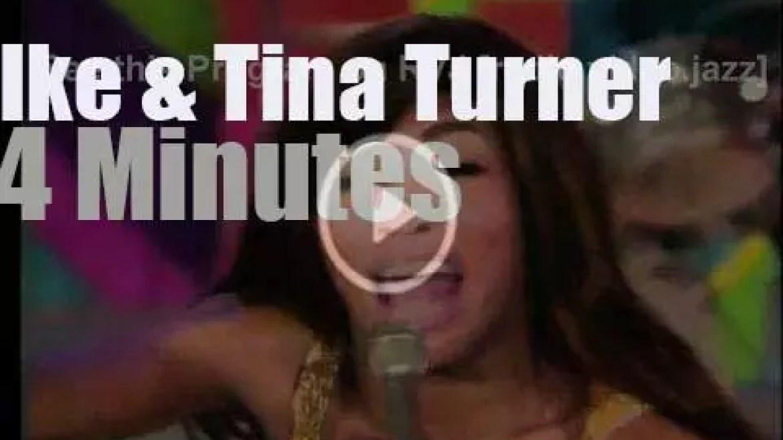 On TV today, Ike & Tina Turner with Ed Sullivan (1970)