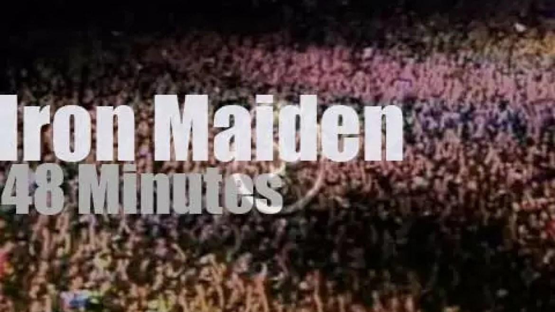 Iron Maiden open 'Rock In Rio' (1985)