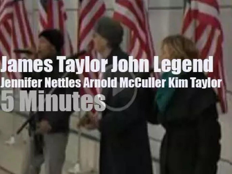 James, John et al  sing at Obama  Inaugural (2009)
