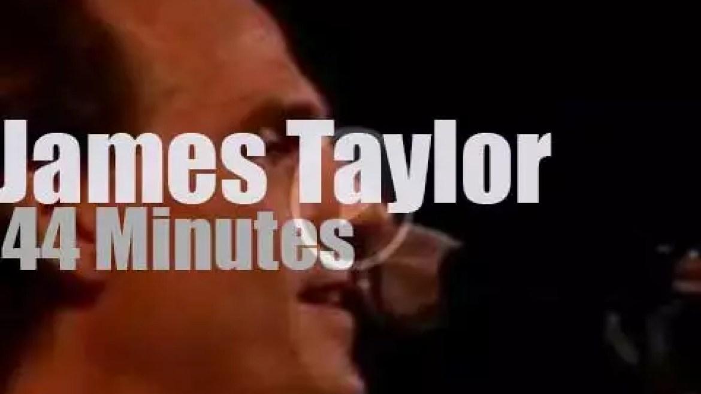 James Taylor (kind of) rocks Rio – day 2 (1985)