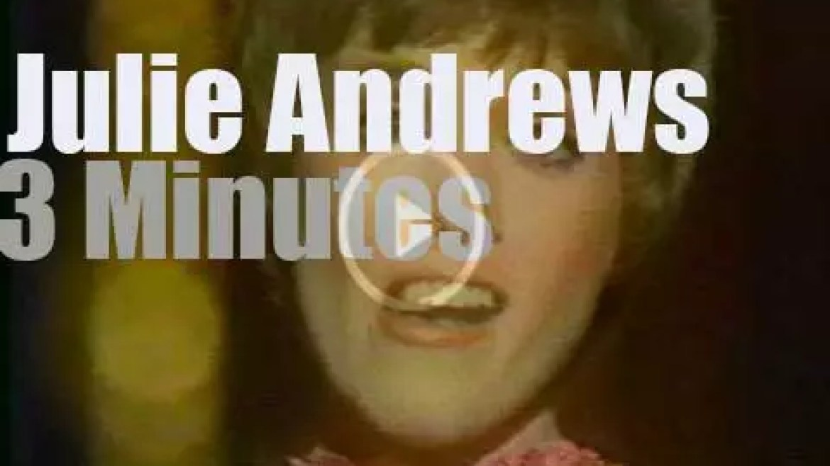 On TV today, 'The Julie Andrews Hour' (1973)