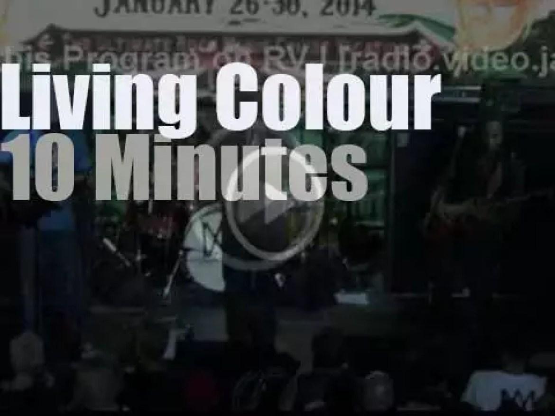 Living Colour rock the ship (2014)