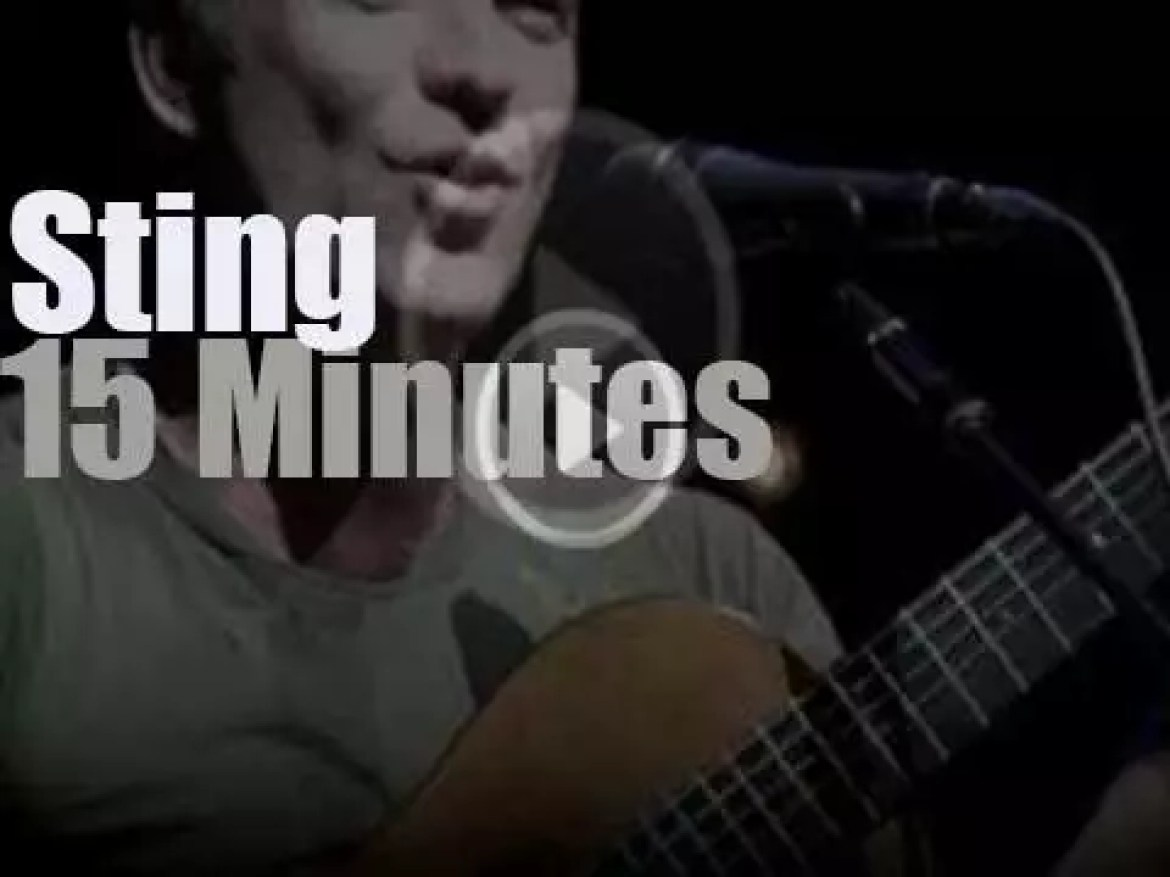 Sting gives a private concert (2010)
