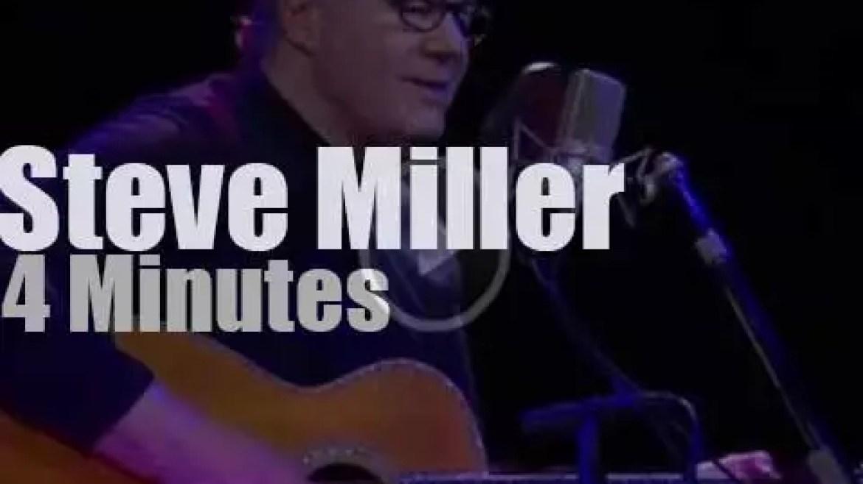 On TV today, Steve Miller with Charlie Rose (2016)