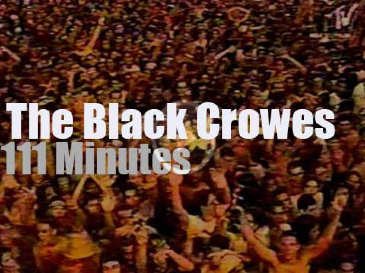 The Black Crowes rock in Rio (1996)