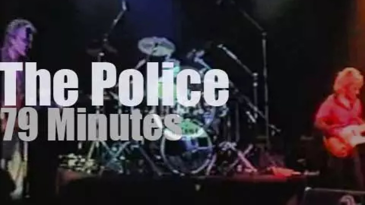 On TV today, The Police at 'Rockpalast' (1980)