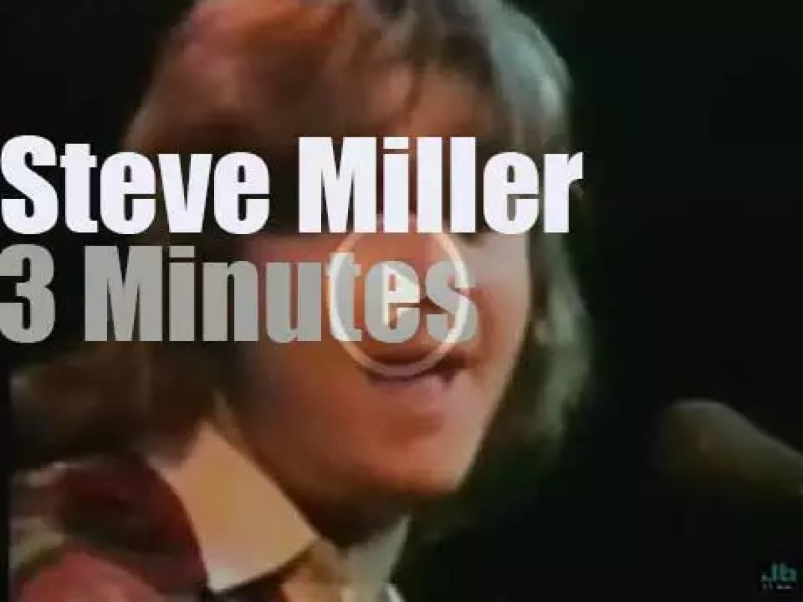 On TV today, The Steve Miller Band at 'Midnight Special' (1974)