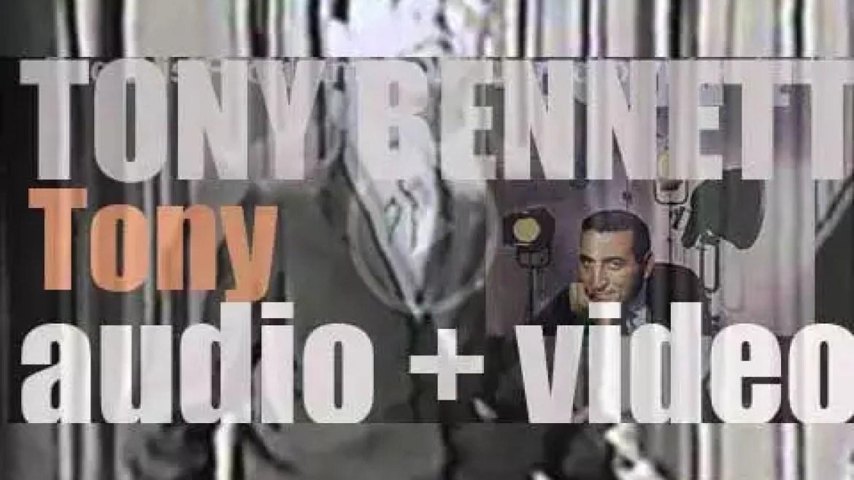 Columbia publish Tony Bennett's album : 'Tony' (1957)