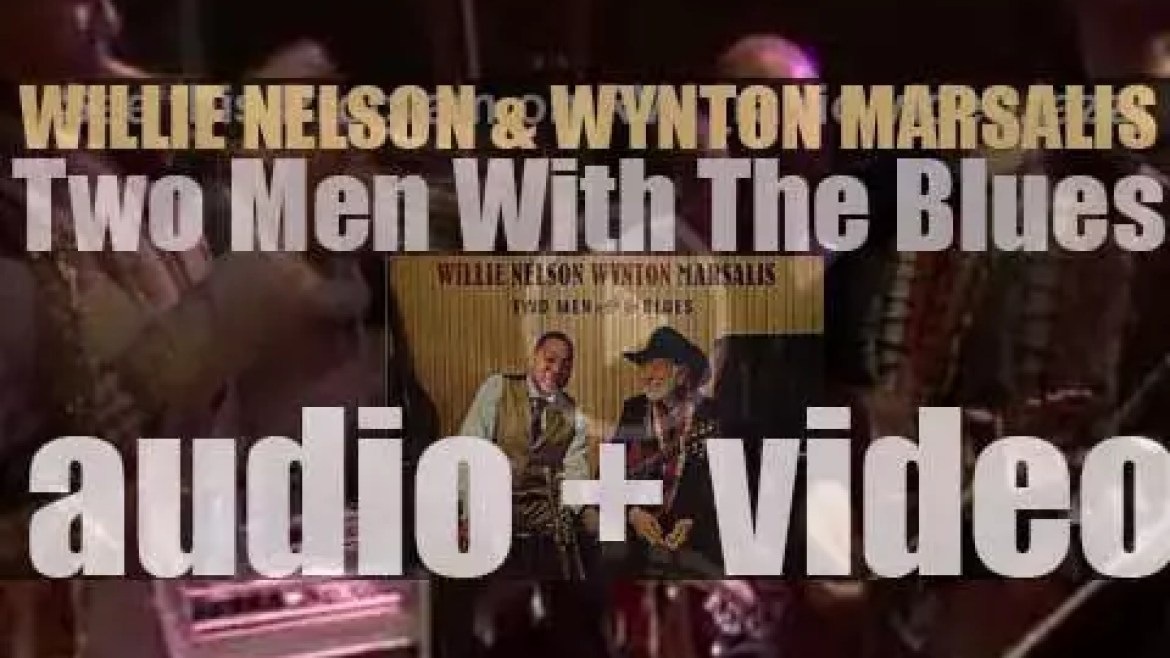 Willie Nelson and Wynton Marsalis record together the live album 'Two Men with the Blues' at  Jazz At Lincoln Center In New York (2007)
