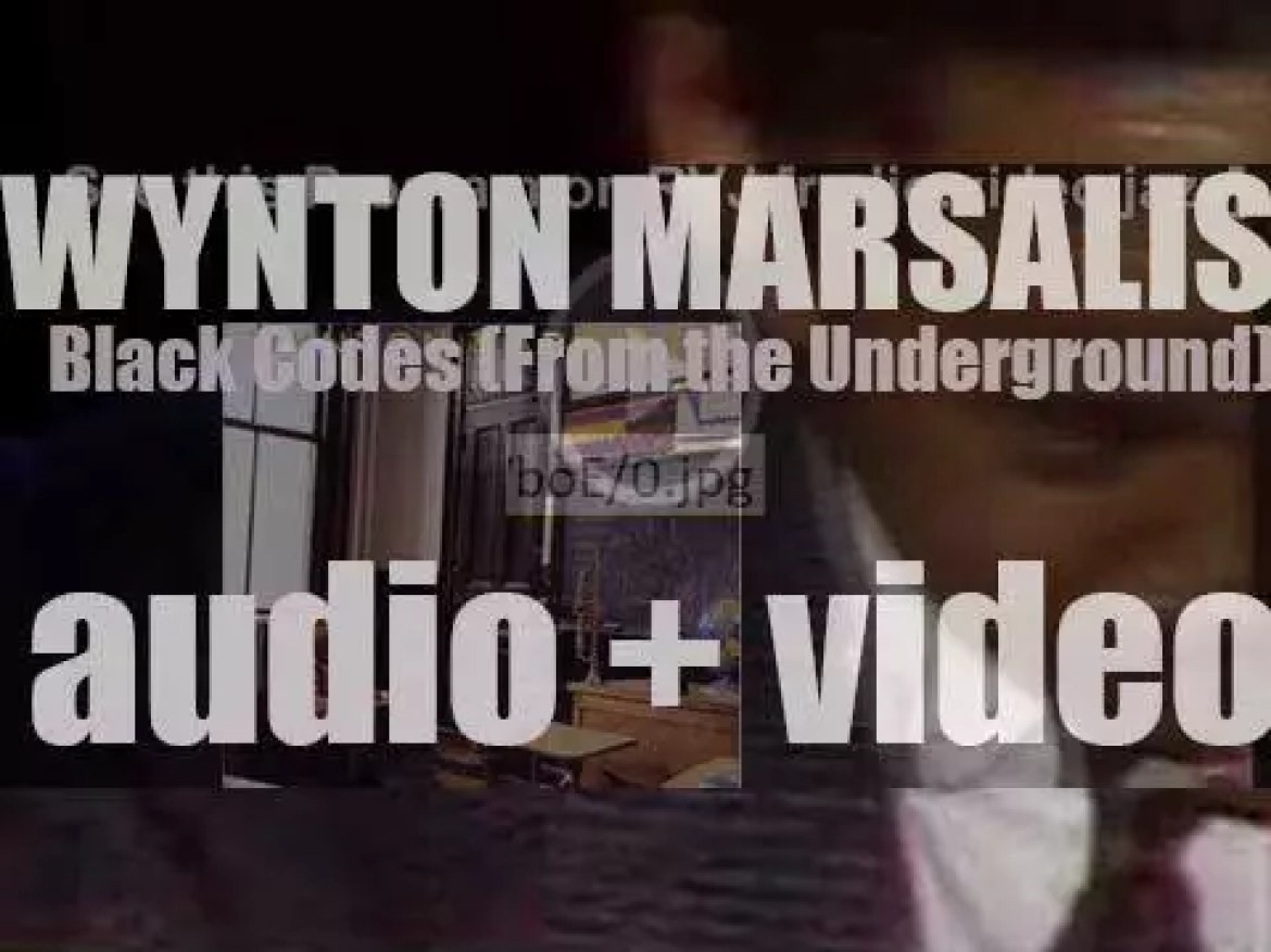 Wynton Marsalis records 'Black Codes (From the Underground)' with Branford Marsalis for Columbia (1985)