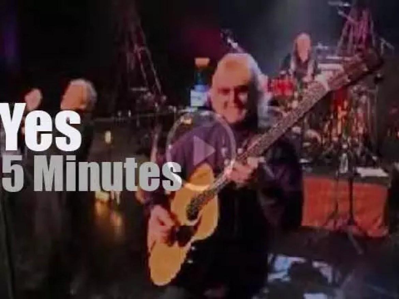 On TV today, Yes via satellite (2004)