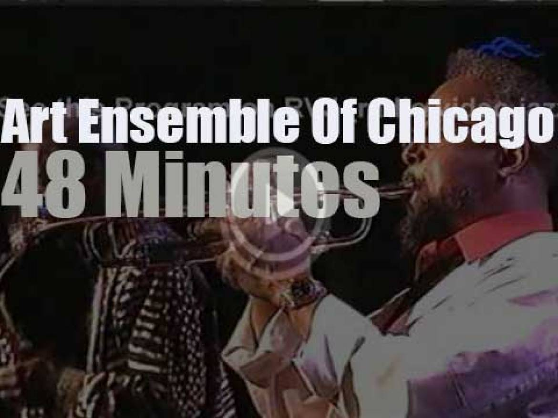 Art Ensemble Of Chicago go to Budapest (1995)