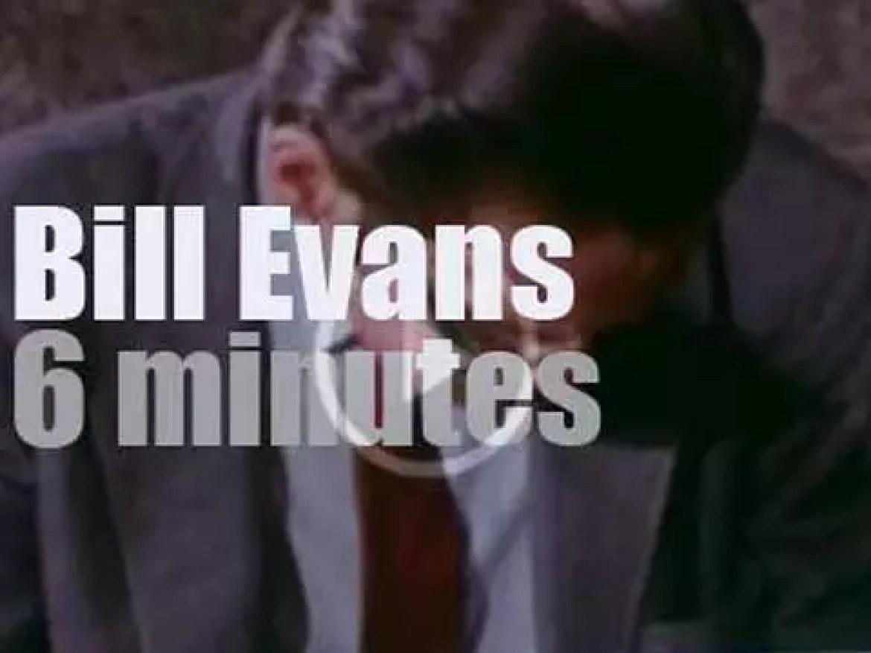On TV today, Bill Evans plays in Sweden (1970)
