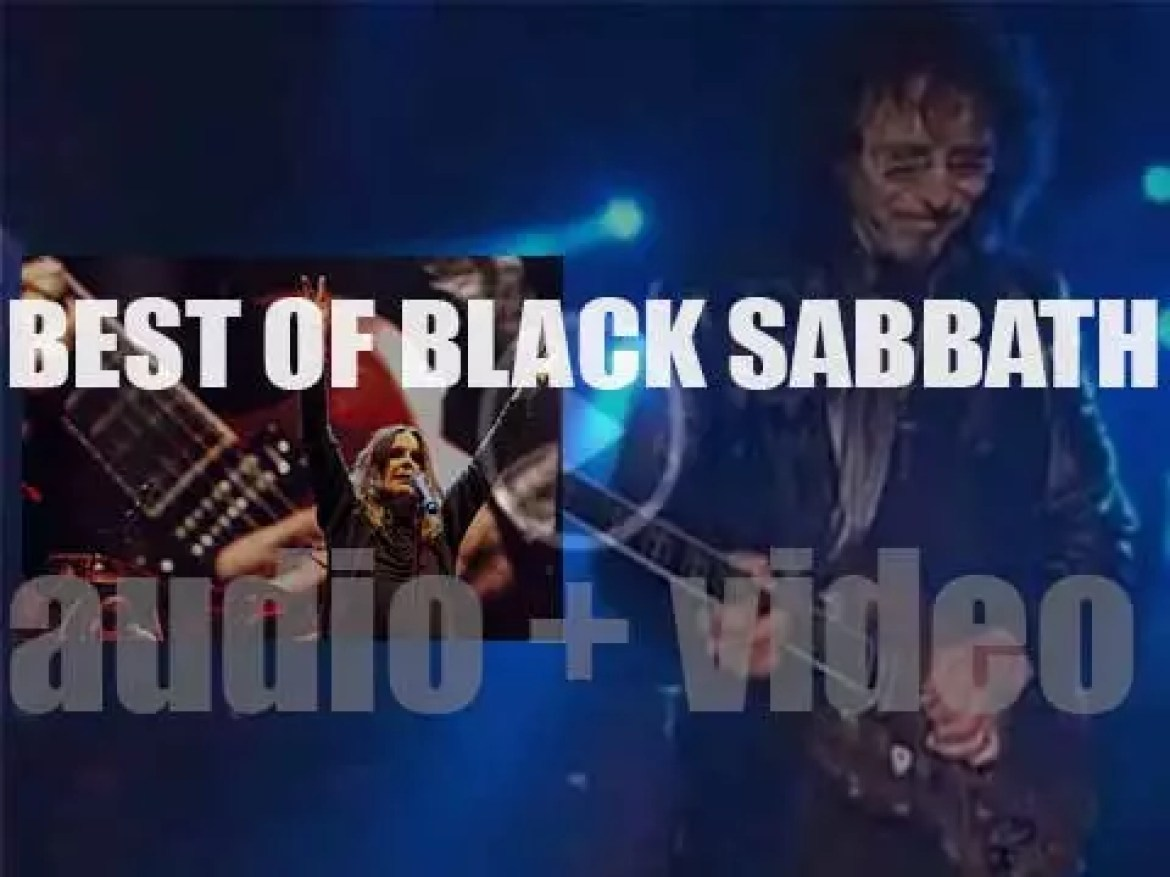 As we wish guitarist Toni Iommi, a happy birthday, it's about time we do a 'Best Of Black Sabbath'