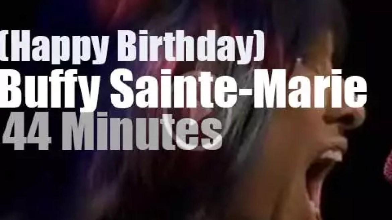 Happy Birthday Buffy Sainte-Marie