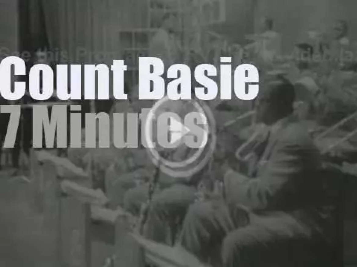 Count Basie takes his Orchestra to Zurich (1959)
