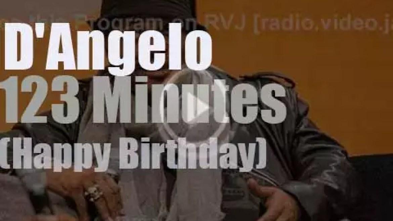 Happy Birthday D'Angelo