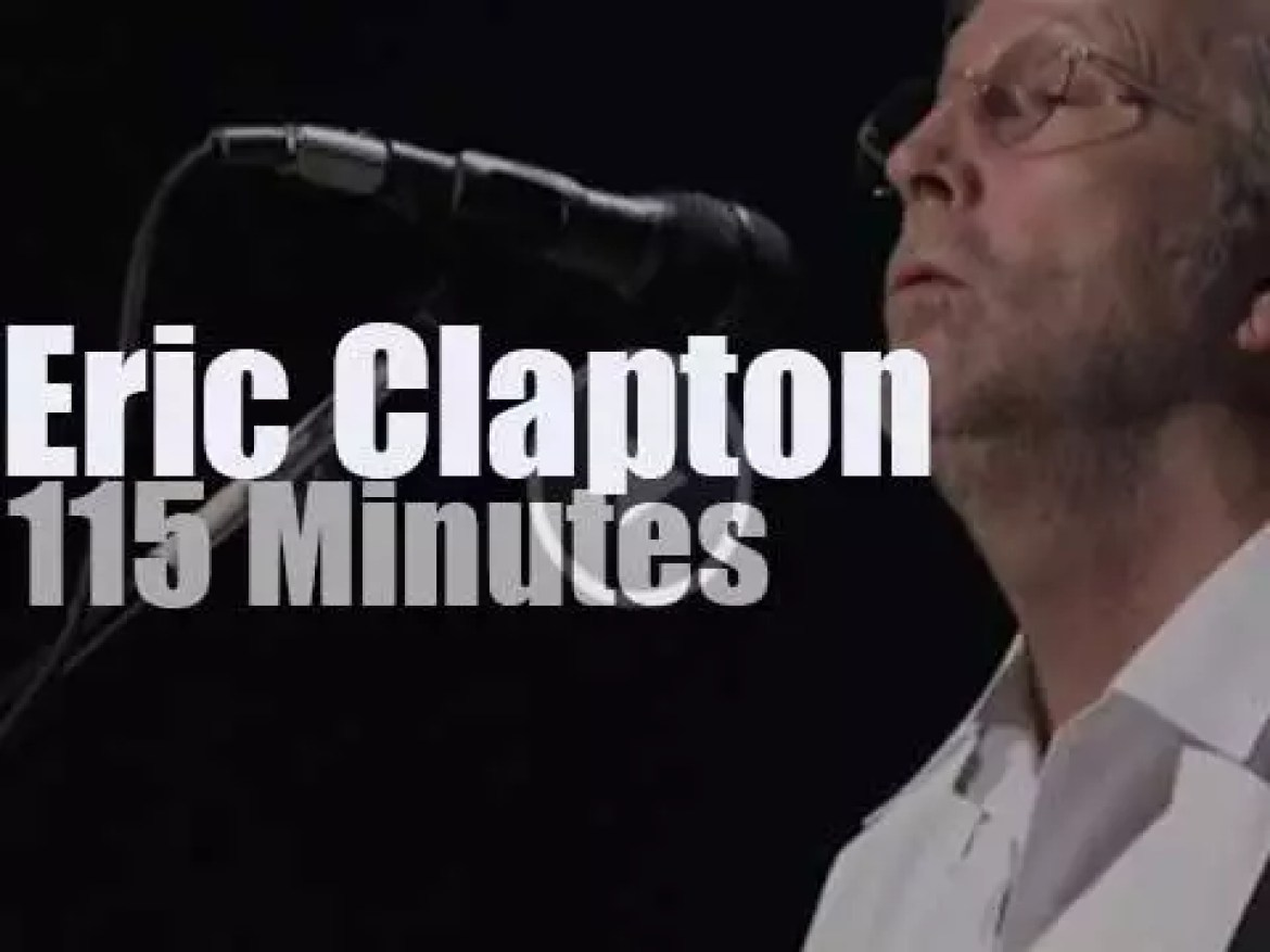 Eric Clapton goes to Tokyo and plays at The Budokan (2009)