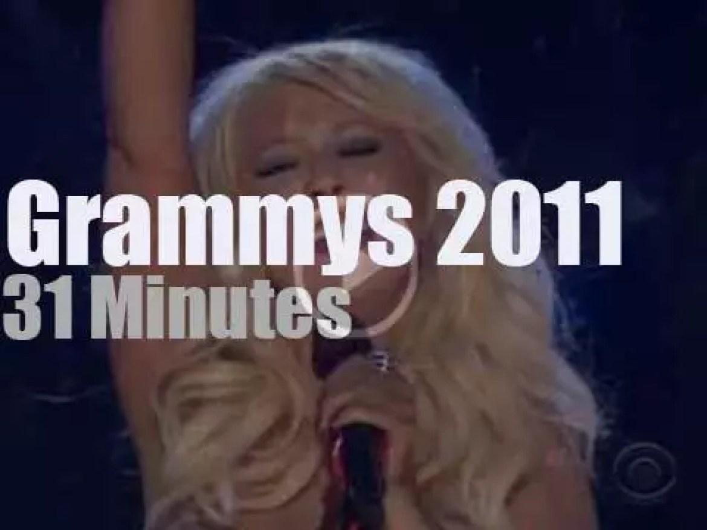 Gaga, Rihanna, Christina et et al at the '53rd Grammys' (2011)