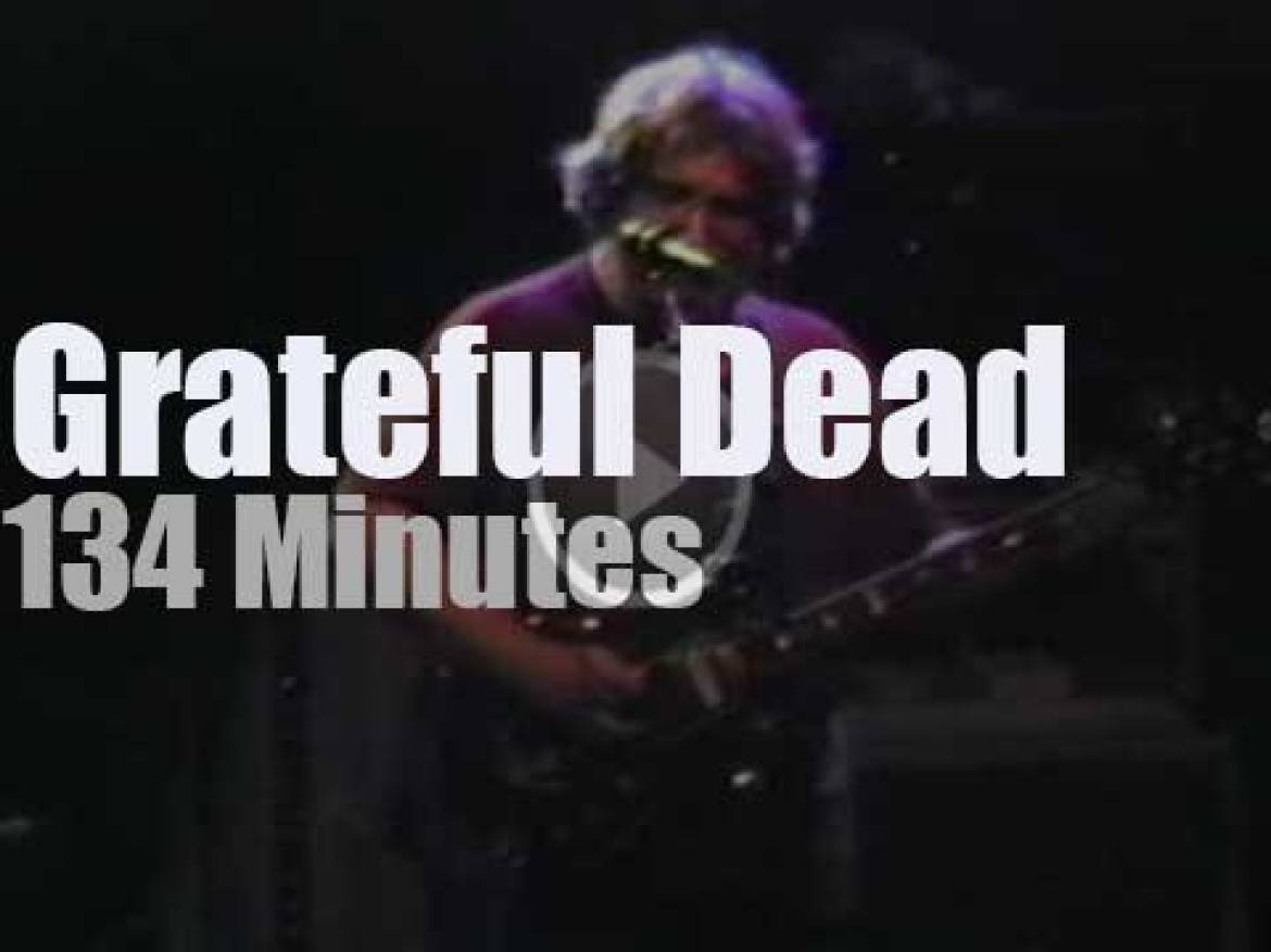 Grateful Dead travel to Oakland (1986)