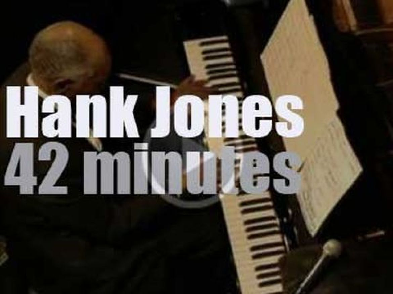 Hank Jones takes the Great Jazz Trio to Tokyo (2009)