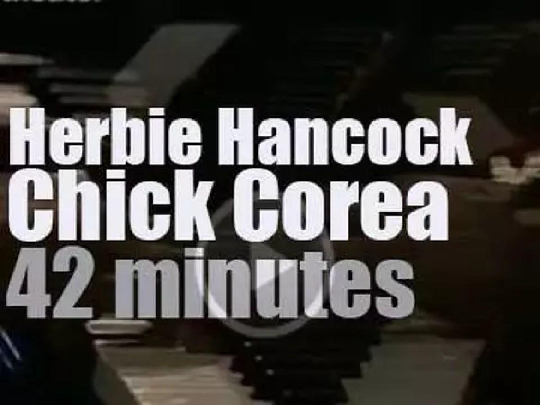 Herbie Hancock meets Chick Corea in Frankfurt (1978)