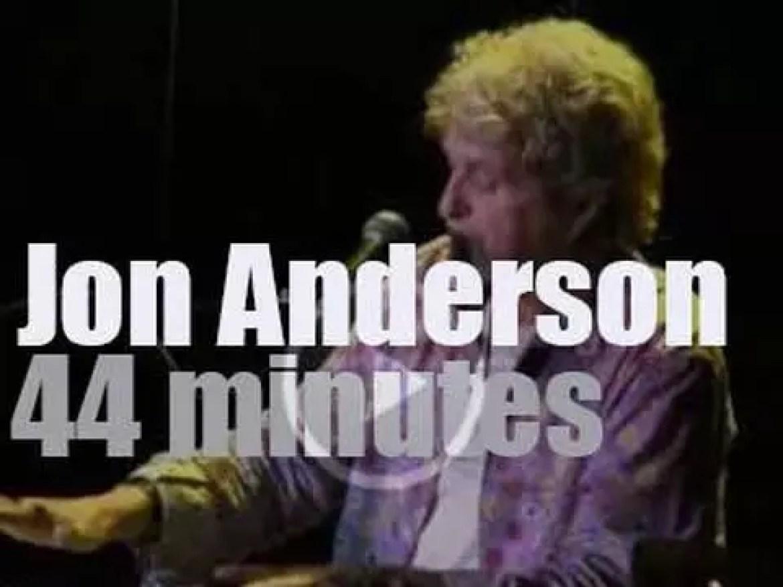 Jon Anderson entertains Dallas, Texas at The Kessler (2014)