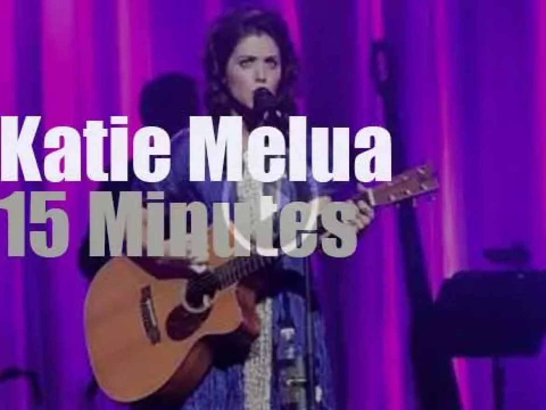 Katie Melua visits Paris (2013)