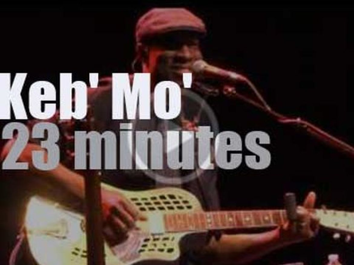 Keb' Mo' does it solo in Orlando (2013)