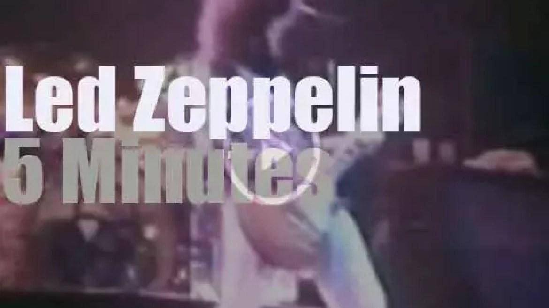 Led Zeppelin are in New-York (1975)