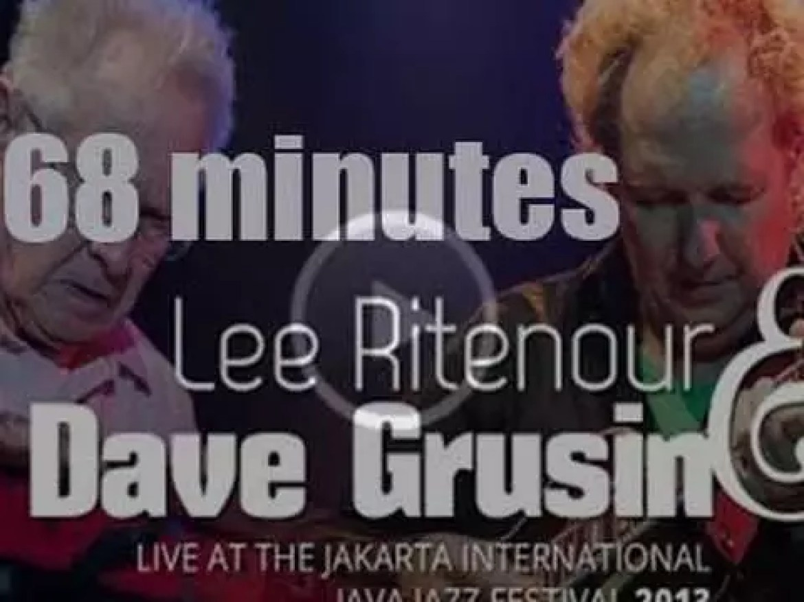 Lee Ritenour & Dave Grusin team up at Java Jazz Festival in Jakarta  (2013)