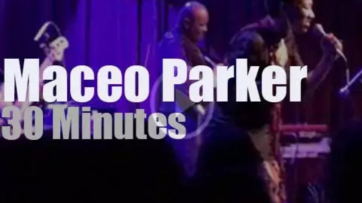 Maceo Parker goes to Philly (2017)