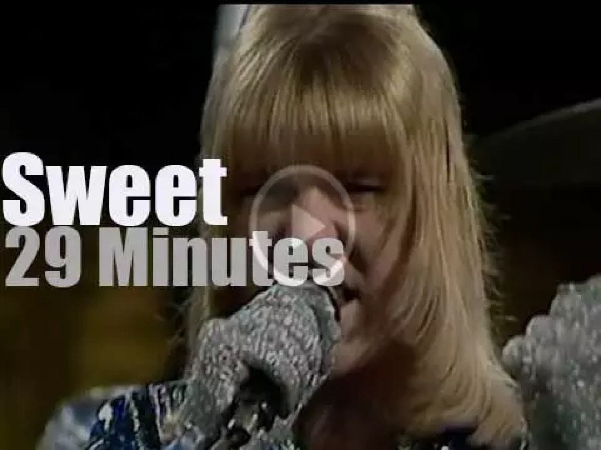On TV today, Sweet glitter in Germany (1974)