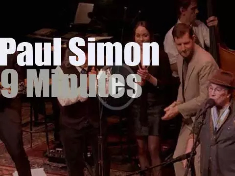 On TV today, Paul Simon at 'A Prairie Home Companion' (2016)