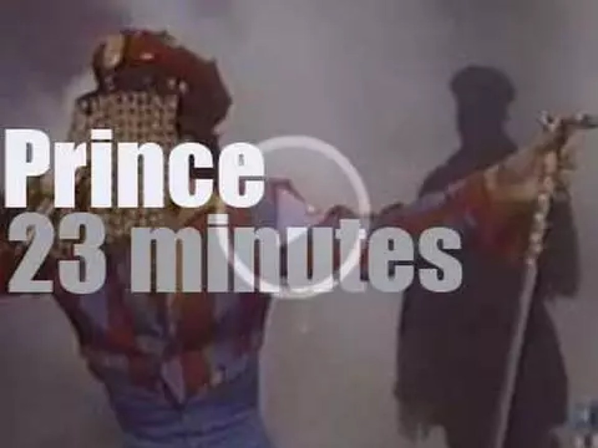 On TV today, Prince & the NPG at 'The Arsenio Hall Show' (1993)
