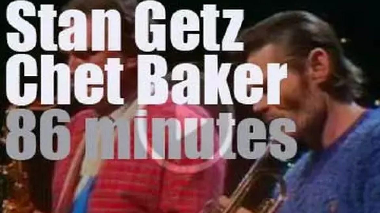 Stan Getz & Chet Baker meet in Stockholm (1983)