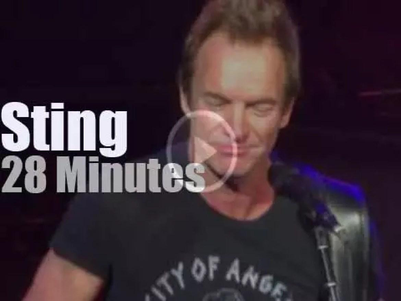 Sting visits Atlanta (2017)