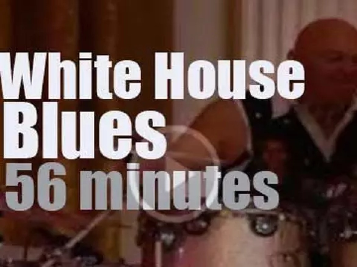 The White House turns 'Blues' (2012)