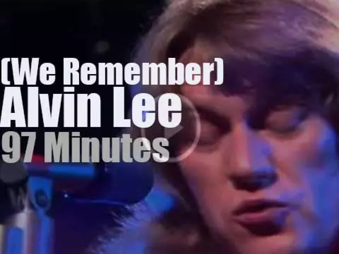 We Remember Alvin Lee from Ten Years After
