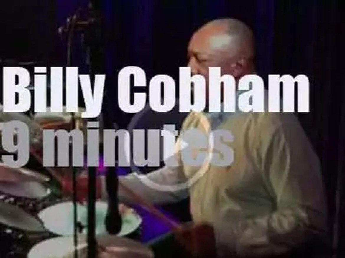 Billy Cobham drums in Moscow (2016)