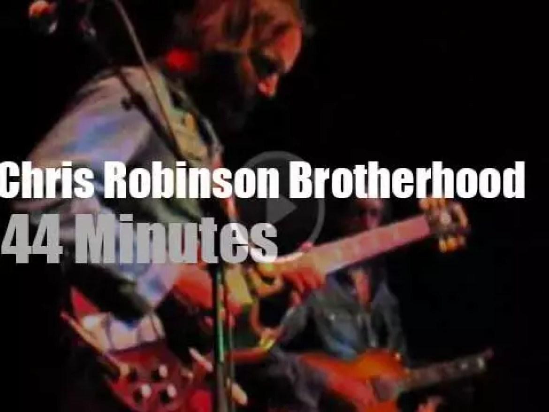 Chris Robinson brings his Brotherhood to Petaluma (2011)