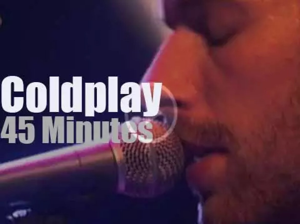 Coldplay have a secret date in Amsterdam (2005)