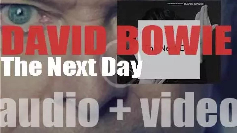 David Bowie releases his twenty-fourth album 'The Next Day' (2013)