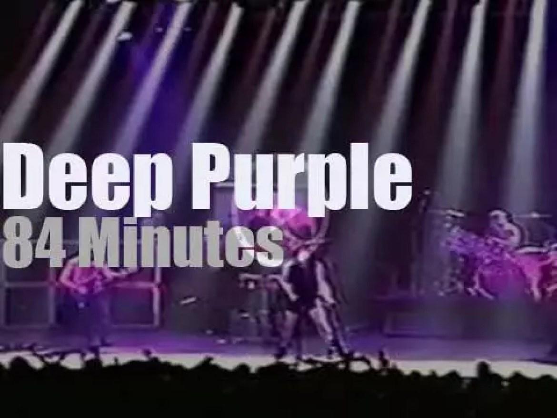 Deep Purple travel to Sao Paulo, Brazil (1997)