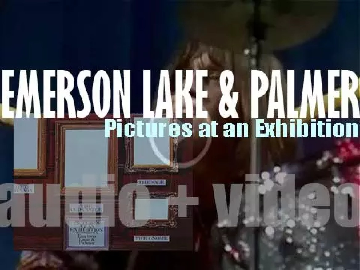 Emerson, Lake & Palmer record 'Pictures at an Exhibition' live  at Newcastle City Hall (1971)