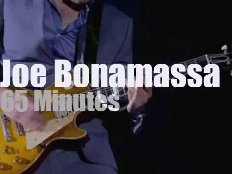 "Joe Bonamassa ""London Tour de Force"" enters his third day (2013)"