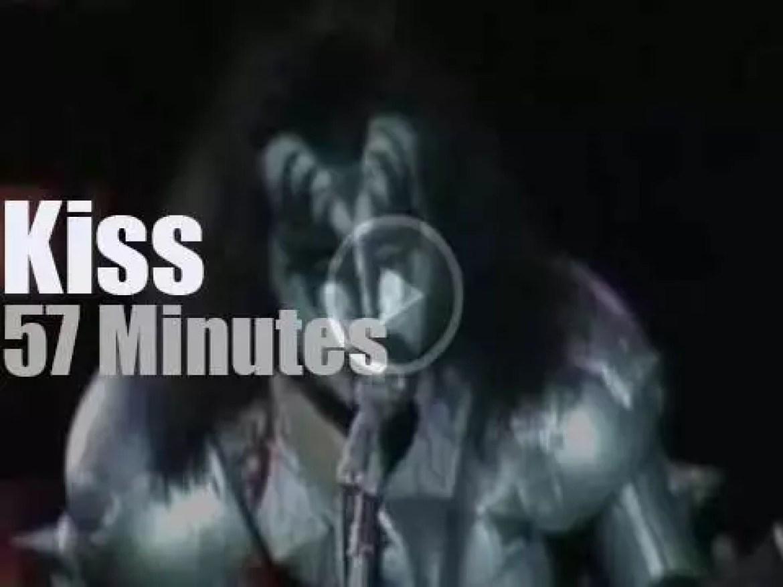 Kiss rock Tokyo (1977)